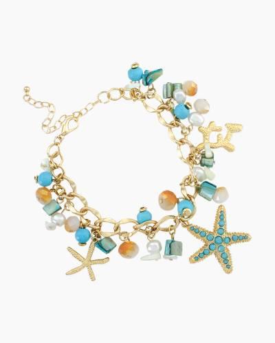 Tropical Paradise Charm Bracelet