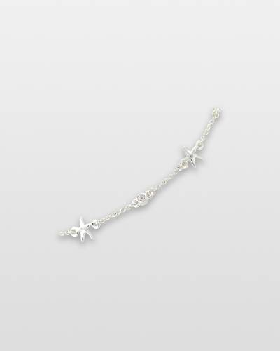 Starfish and Crystals Anklet
