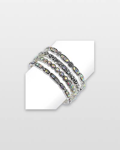 AB Crystal Silver Bracelet (Assorted)