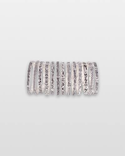 Silver Swirl Bracelet (Assorted)