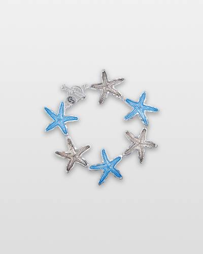 Dancing Starfish Toggle Bracelet