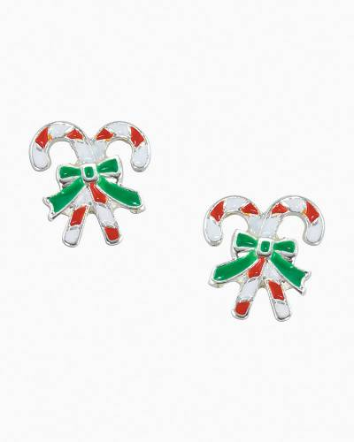 Mini Candy Canes Earrings