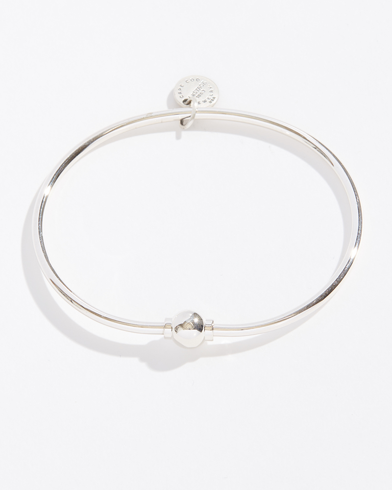 LeStage Silver Single Ball Cape Cod Jewelry Collection Bracelet