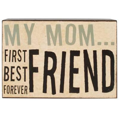 My Mom Wall Box Sign