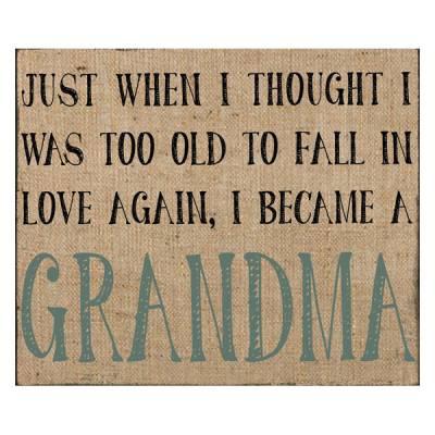 Grandma Wall Box Sign