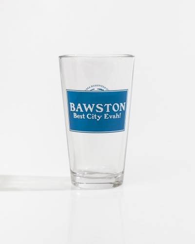 Bawston Pint Glass