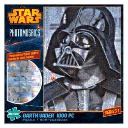 Buffalo Games Photomosaic Star Wars Darth Vader Puzzle (1000 pc.)