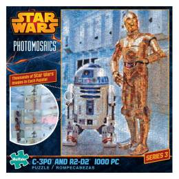 Buffalo Games Photomosaic Star Wars C-3PO/R2-D2 Puzzle (1000 pc.)