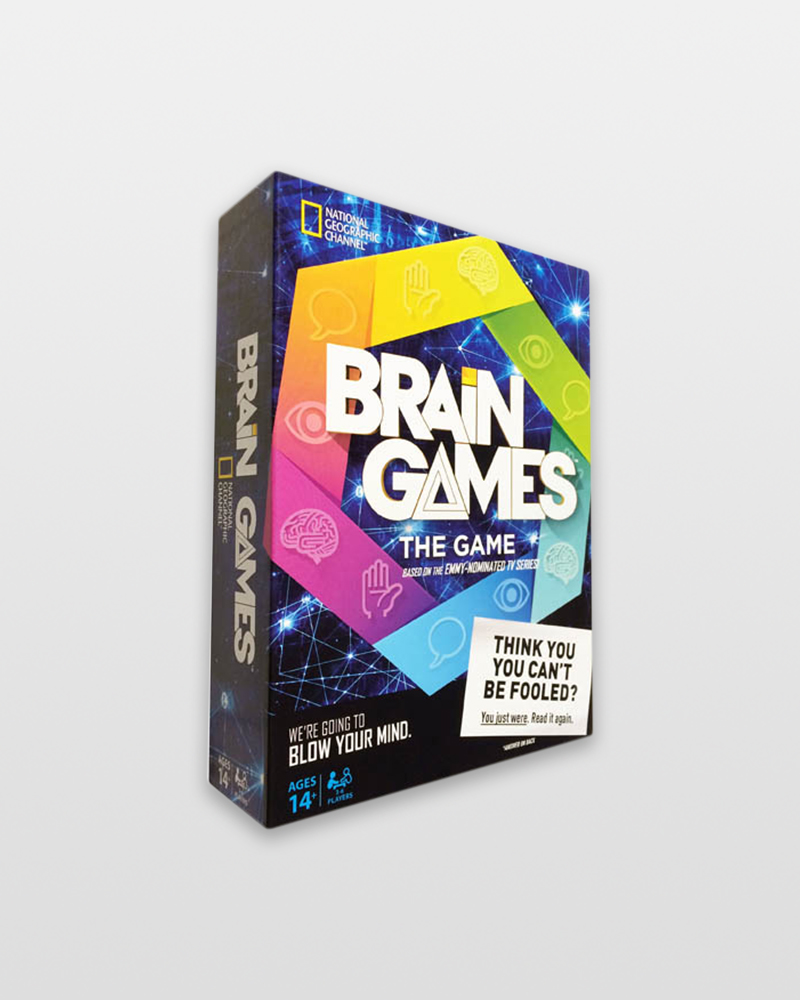 Buffalo Games Brain Games the Game