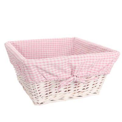 Medium Pink Basket