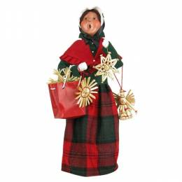 Byers' Choice Carolers Traditional Woman Shopper Figurine