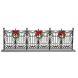 Byers' Choice Wrought Iron Fence Decoration