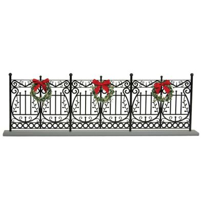Wrought Iron Fence Decoration