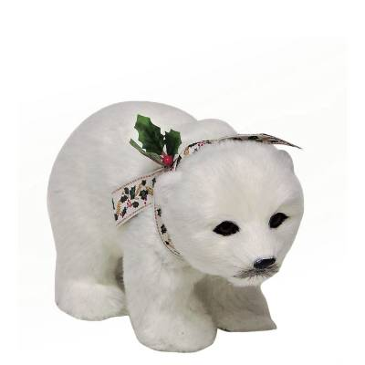 Polar Bear Cub Figurine