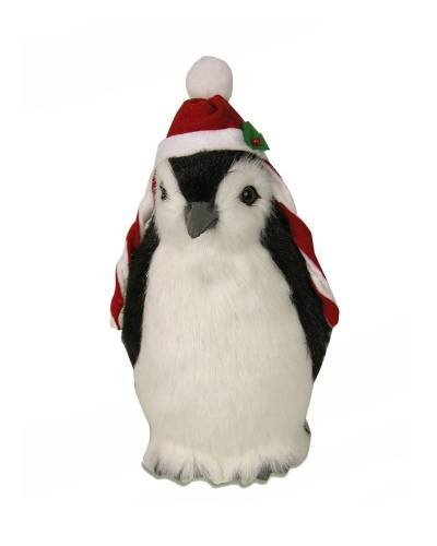 Penguin with Hat Figurine