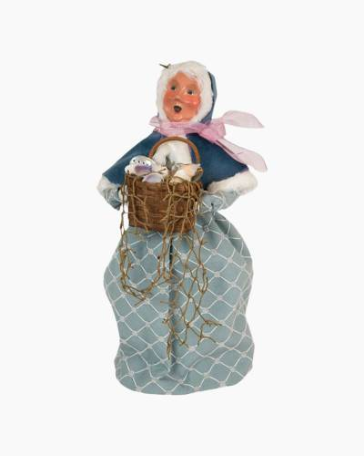 Nautical Mrs. Claus Carolers Figurine