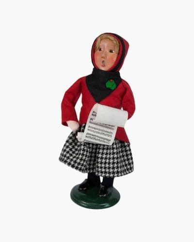 Douglas Girl Carolers Figurine