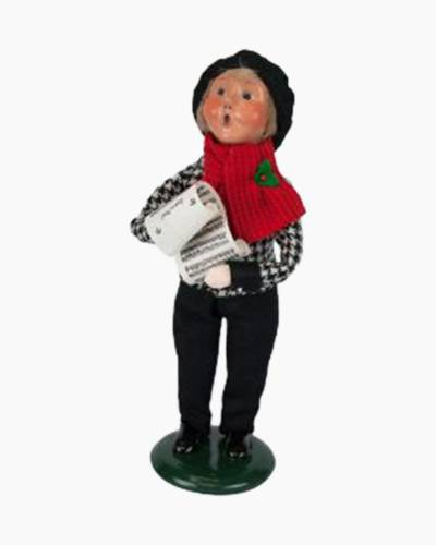 Douglas Boy Carolers Figurine