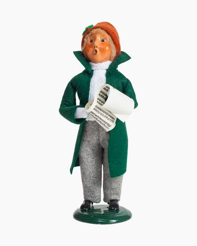 Exclusive Caroling Boy Carolers Figurine