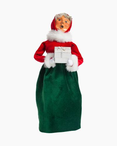 Exclusive Mrs. Claus Carolers Figurine