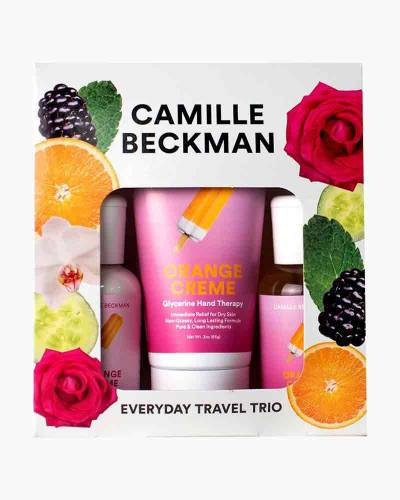 Orange Creme Everyday Spa Travel Trio
