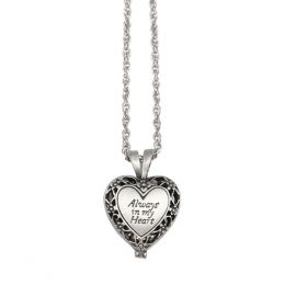 Cathedral Art Metal Always In My Heart Memorial Locket