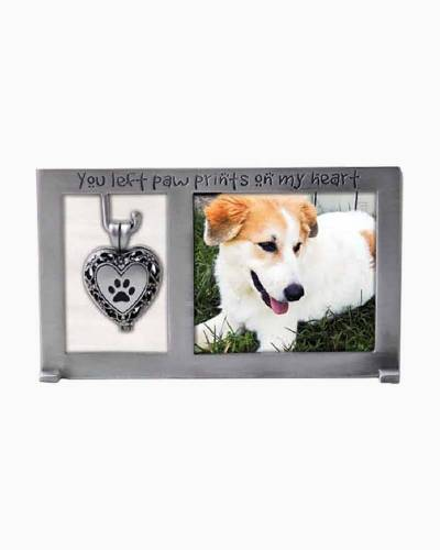 Paw Prints On My Heart Frame