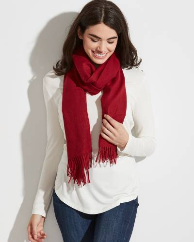 Exclusive Scarf in Burgundy