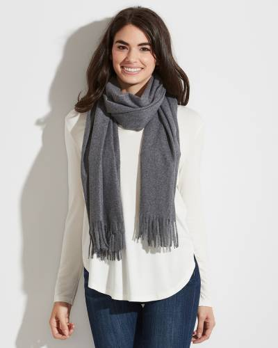 Exclusive Scarf in Dark Gray