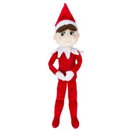 Elf on the Shelf Plushee Pals - Boy 19 inch (Light-Skinned)
