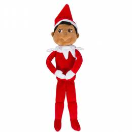 Elf on the Shelf Plushee Pals - Boy 19 inch (Dark-Skinned)