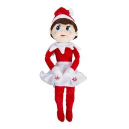 Elf on the Shelf Plushee Pals - Girl 19 inch (Light-Skinned)
