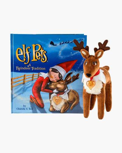 Elf Pets: A Reindeer Tradition Book and Plush Set