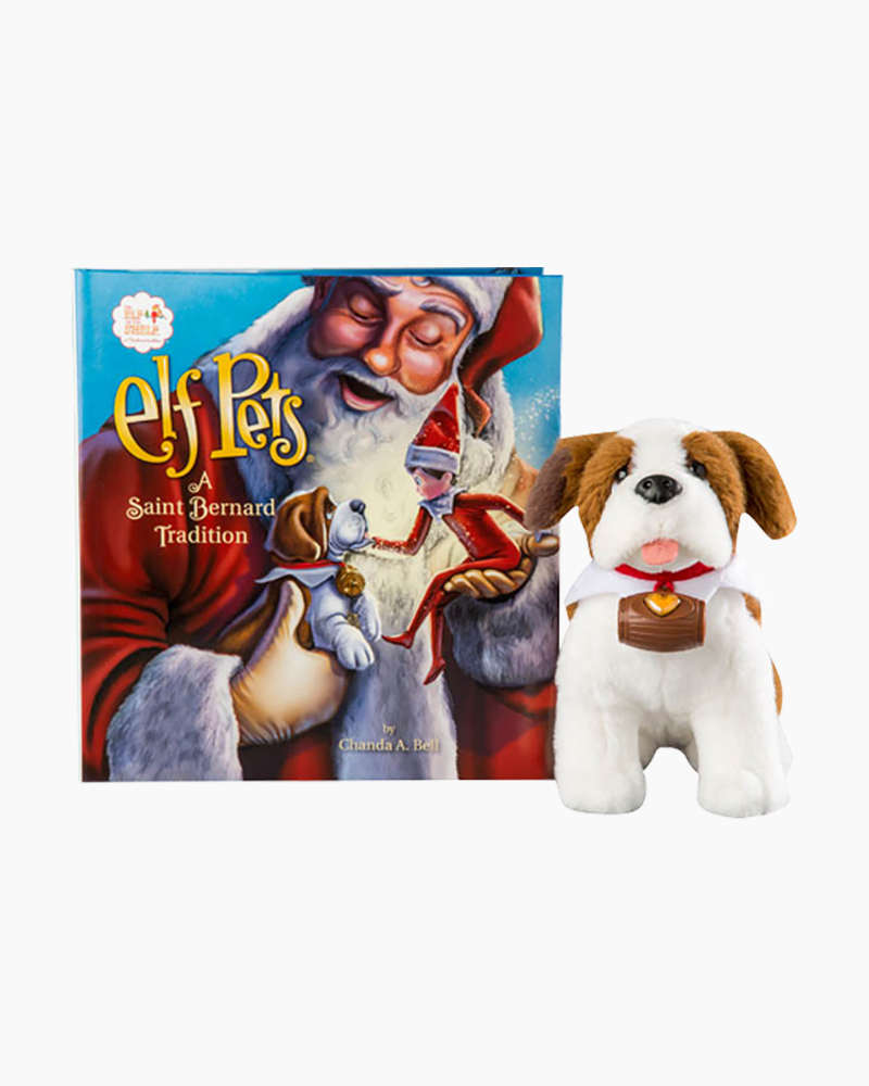 Elf on the Shelf Elf Pets: A Saint Bernard Tradition