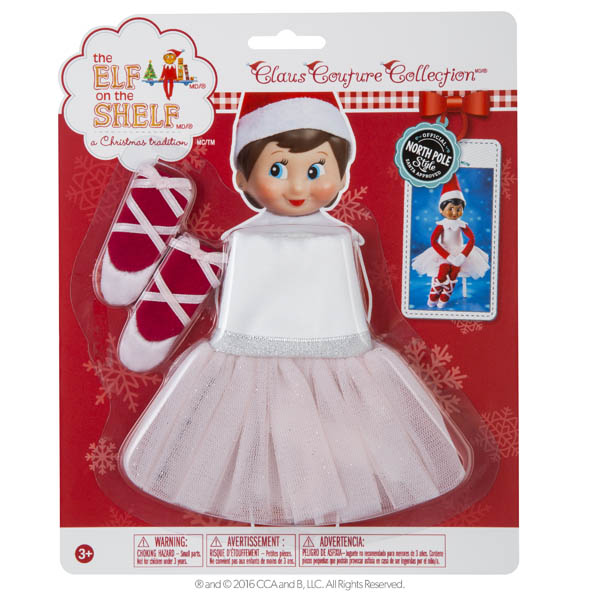 Elf on the Shelf Scout Elf Twinkle Toes Tutu
