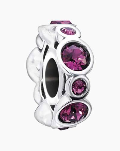 February Birthstone Jewels Charm