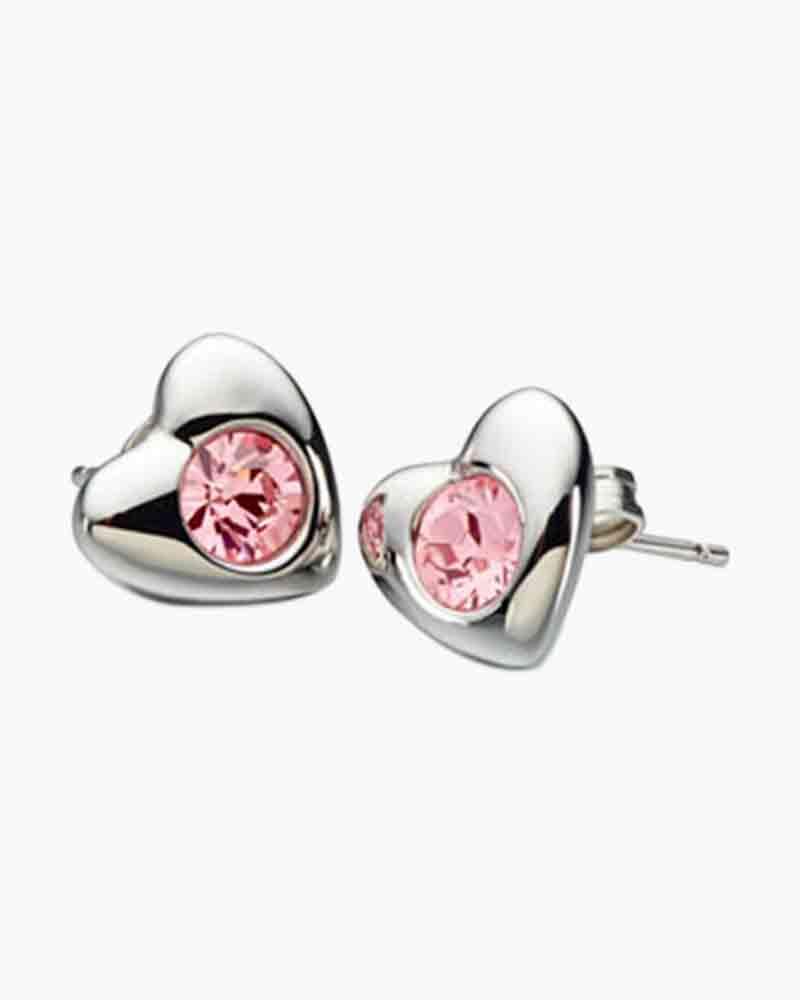 Radiant Heart Earrings