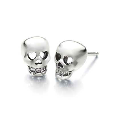 Love You to Death Skull Earrings