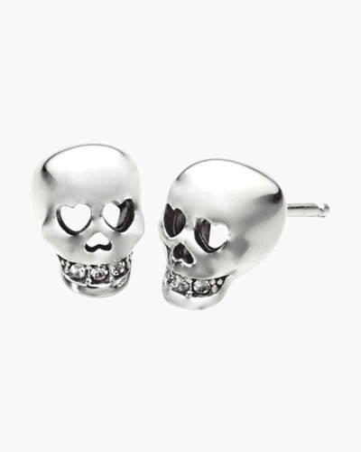 Love You to Death Skull Earrings