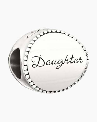 Family Disc Daughter Charm