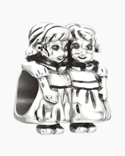 Sisters Figurine Charm
