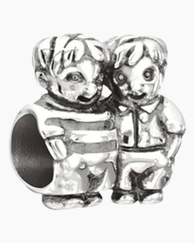 Brothers Figurine Charm