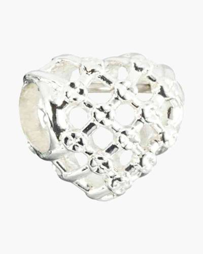 Woven Heart Charm