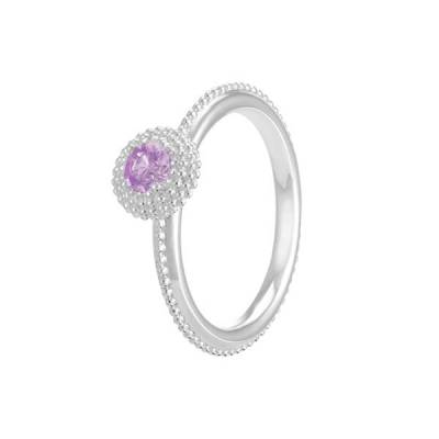 Soiree February Birthstone Stackable Ring