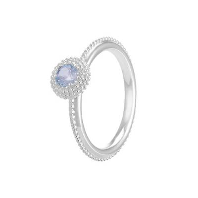 Soiree March Birthstone Stackable Ring