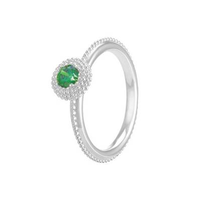 Soiree May Birthstone Stackable Ring