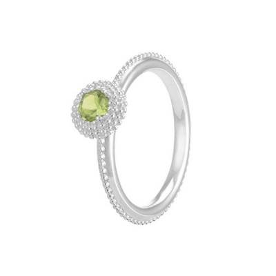 Soiree August Birthstone Stackable Ring