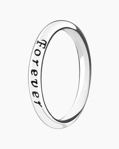 Today, Tomorrow, Forever Stackable Ring