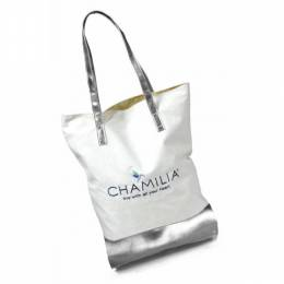 Chamilia Canvas and Leatherette Tote