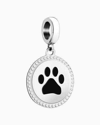 Give Love Animal Print Charm